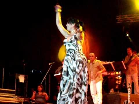 olga tañon en vivo feria barinas 2010