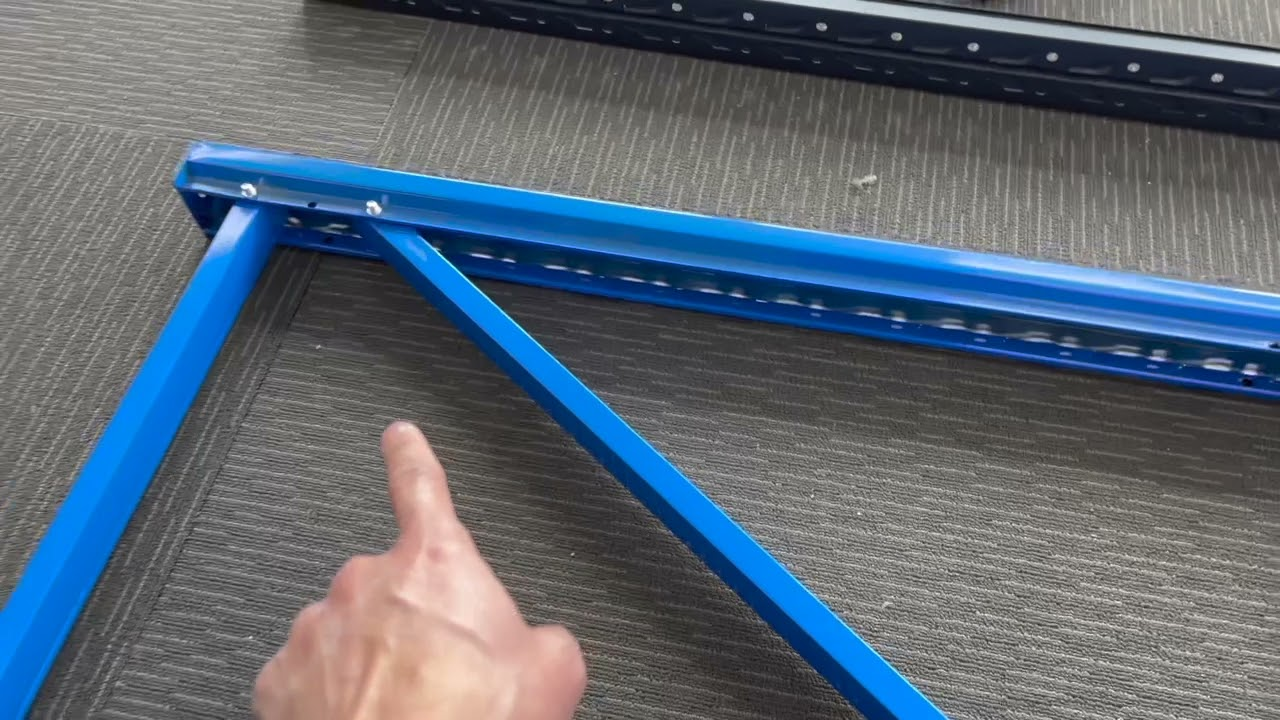 How to install long span shelving