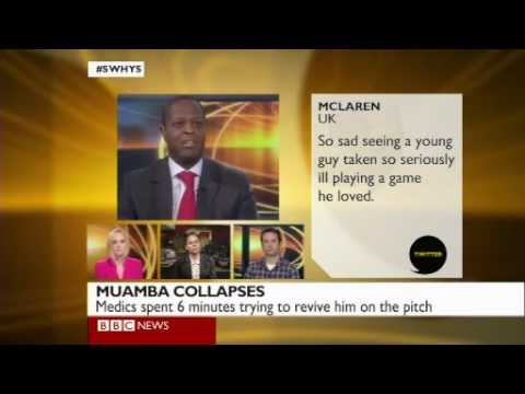 BBC Sports World Have Your Say: Fabrice Muamba Collapses