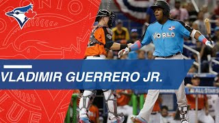 2018 MLB.com Top Prospects: Much like his father, Vlad Jr. has an e...
