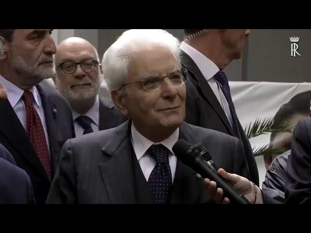 Il discorso del Presidente della Repubblica Sergio Mattarella al Rione Sanità.