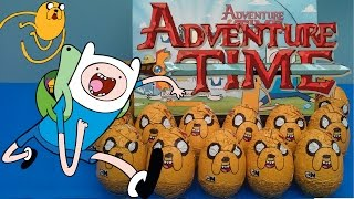 Adventure Time Surprise Eggs. 15 Huevos Sorpresa Hora de Aventura