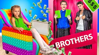 My Brothers Are Jock and Nerd! Funny Sibling Struggles!