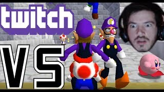 Twitch VS 1 Idiot | Stop the Streamer! | Super Mario 64 Online [FINALE]