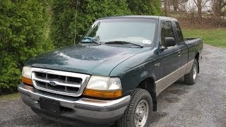 1998 Ford Ranger XLT Start Up, Tour, and Quick Test Drive