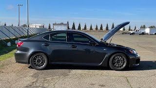 Lexus ISF with GS450H diff - 1/4 mile, Dragy 0-60MPH & 60-130MPH results - RR Racing tuned