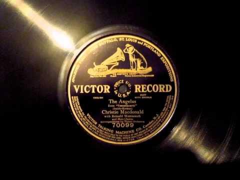 1913 BROADWAY MUSICAL:  Christie MacDonald & Reinald Werrenrath ~ The Angelus (1913)