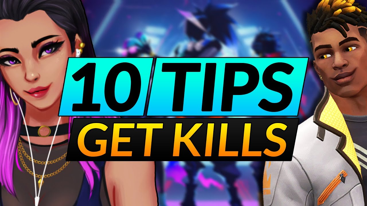 10 BEST Tips to SCORE MASSIVE KILLS in Valorant - How to FLANK Like a PRO