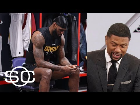 Jalen Rose reads list of LeBron James' strategic social media posts | SportsCenter | ESPN