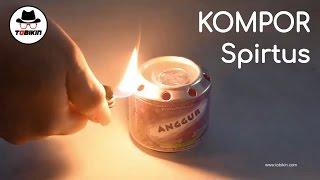 Membuat Kompor Sederhana dari Kaleng Bekas (bisa dipakai saat travelling dan darurat)