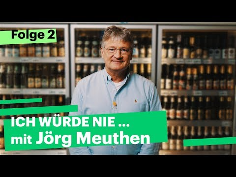 """""""Ich würde nie…"""" mit Jörg Meuthen (AfD)"""