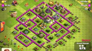 Clash of Clans 970K Raid, Amazing loot