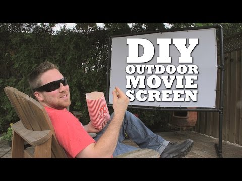 how-we-built-an-outdoor-movie-screen!-|-cottage-life-diy