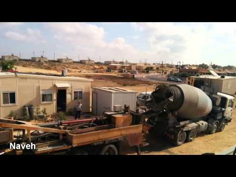 Portable Bomb Shelters For Community In Israel's South