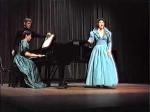 1983: Deborah Riedel, soprano. Finals, Australian Singing Competition.