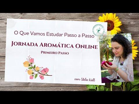 Estudos de Aromaterapia na Jornada Aromática OnLine com Stela Kiill - O Primeiro Passo from YouTube · Duration:  10 minutes 32 seconds