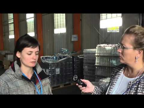 Interview with NGO organizer Slovenian refugee warehouse