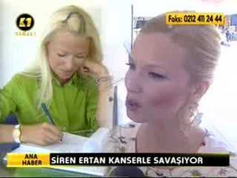 Siren Ertan kanserle savaş
