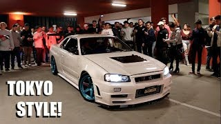 The Most INSANE Tokyo Style Car Meet EVER!