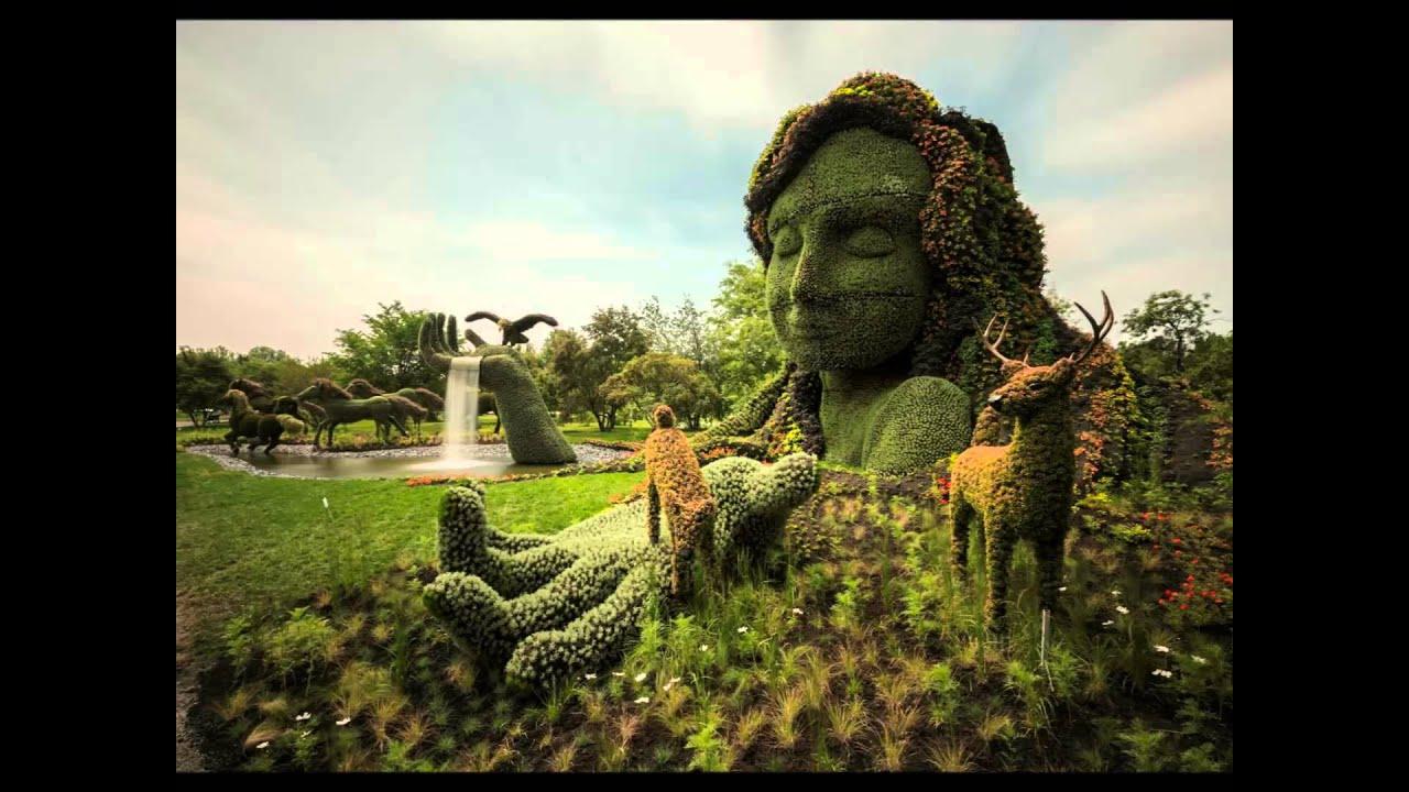 Jardines bot nicos del mundo youtube for Budas grandes para jardin