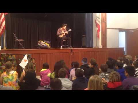 Jake Shimabukuro at Marengo Elementary School