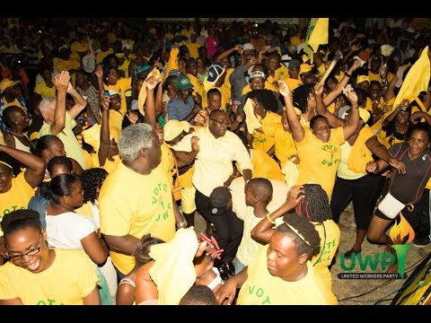 UWP Dennery South Public Meeting Dennery Saint Lucia