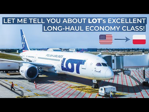 TRIPREPORT | LOT Polish Airlines (ECONOMY) | Newark - Warsaw | Boeing 787-8
