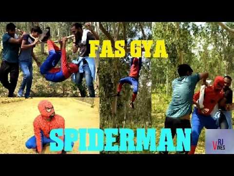 LATEST || FAS GYA SPIDERMAN || OFFICIAL FULL VIDEO || VRJ VINES || SPIDERMAN COMPLITION ||