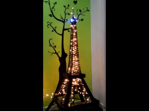 DIY Eiffel tower