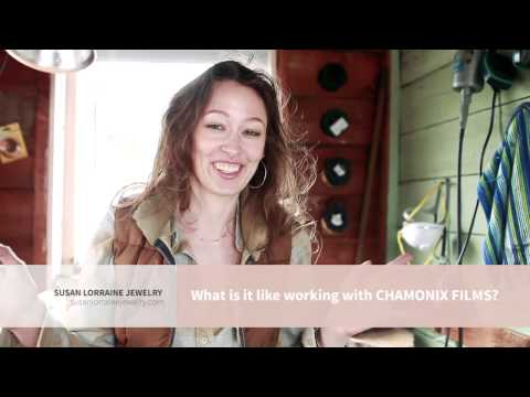 What's it like working with Chamonix Films? - Susan Lorraine Jewelry Testimonial