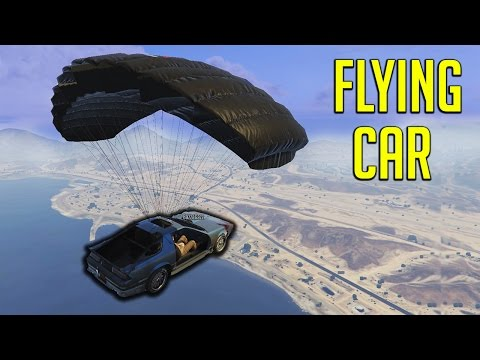 [GTA] The Flying Car Adventure!