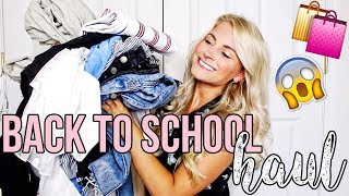 BACK TO SCHOOL TRY-ON HAUL 2018
