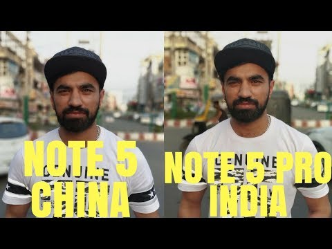 Redmi Note 5 China Camera vs Redmi Note 5 Pro India ! Hindi