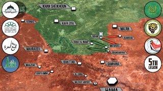 5 апреля 2017. Военная обстановка в Сирии. В Идлибе проведена химическая атака. Русский перевод.