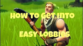 (OUTDATED) How To Get Into EASY Lobbies in Fortnite Season 9!! EASY WINS (Xbox, PS4, Switch, PC)