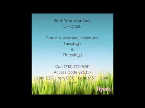 Morning Prayer & Inspiration -Desire