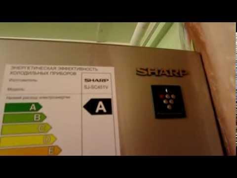 видео: Холодильник_sharp