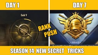 TOP 15 NEW TIPS AND TRICKS PUSH RANK CONQUEROR IN JUST 7 DAYS PUBG MOBILE !! HOW TO RANK PUSH SEASON