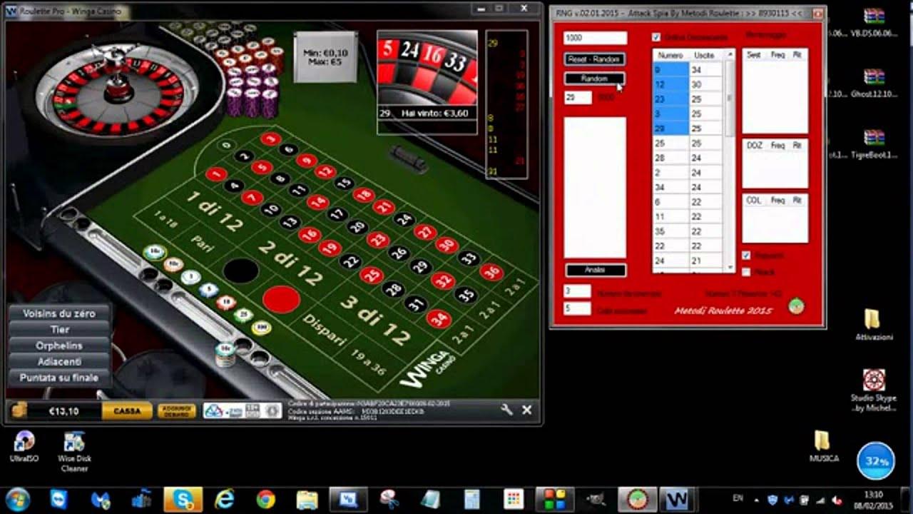 Metodi roulette online software