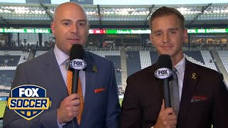 Stu Holden gives his MLS Cup final prediction | FOX SOCCER
