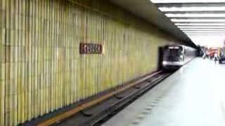 Manipulační průjezd stanicí Chodov