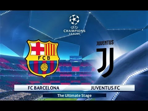 Barcelona vs Juventus | L. Messi 4 Goals | UEFA Champions League 2018 Final | PES 2018 Gameplay HD