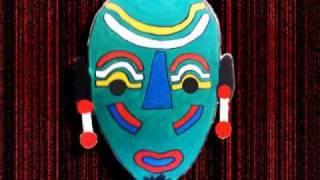 Máscaras de inspiração africana 04