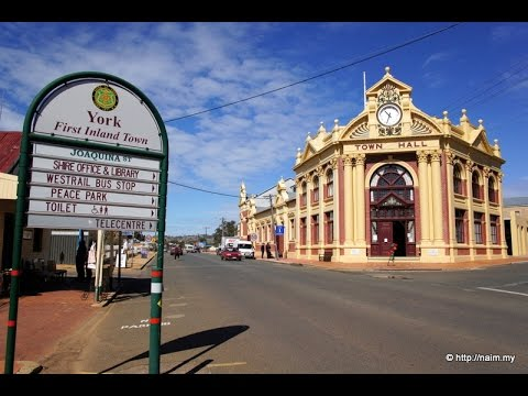 Shire of York (First Inland Settlement Walkabout) - Perth Australia