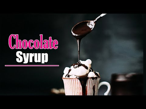 Homemade Chocolate Syrup Easy And Quick Chocolate Sauce Recipe