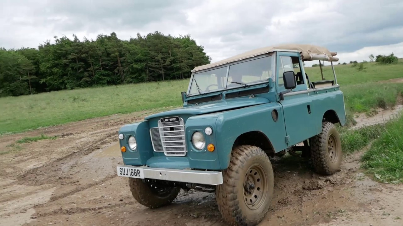 land rover series 3 off road youtube. Black Bedroom Furniture Sets. Home Design Ideas