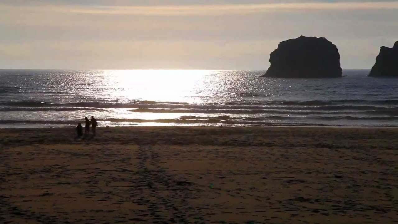 VIdeo Of Spring Lake Park Rockaway Beach Oregon Coast
