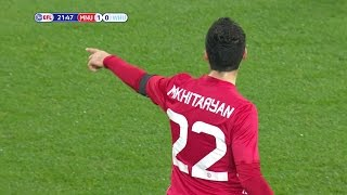 Henrikh Mkhitaryan Vs West Ham (Home) 16-17 HD 720p - English Commentary