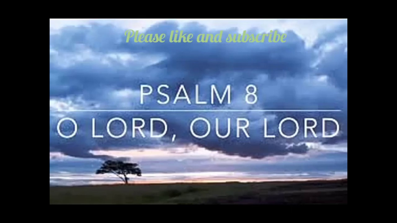 Psalm 8 in Yoruba - YouTube