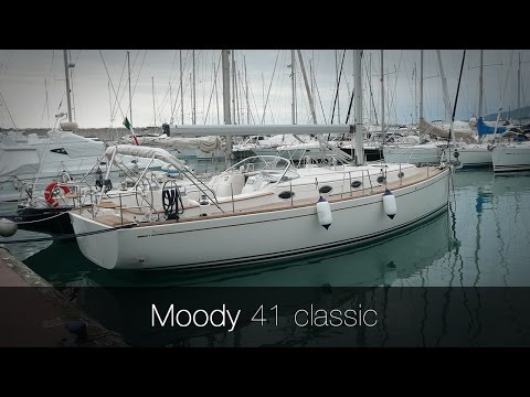 Moody 41 classic | Used sail boat Moody